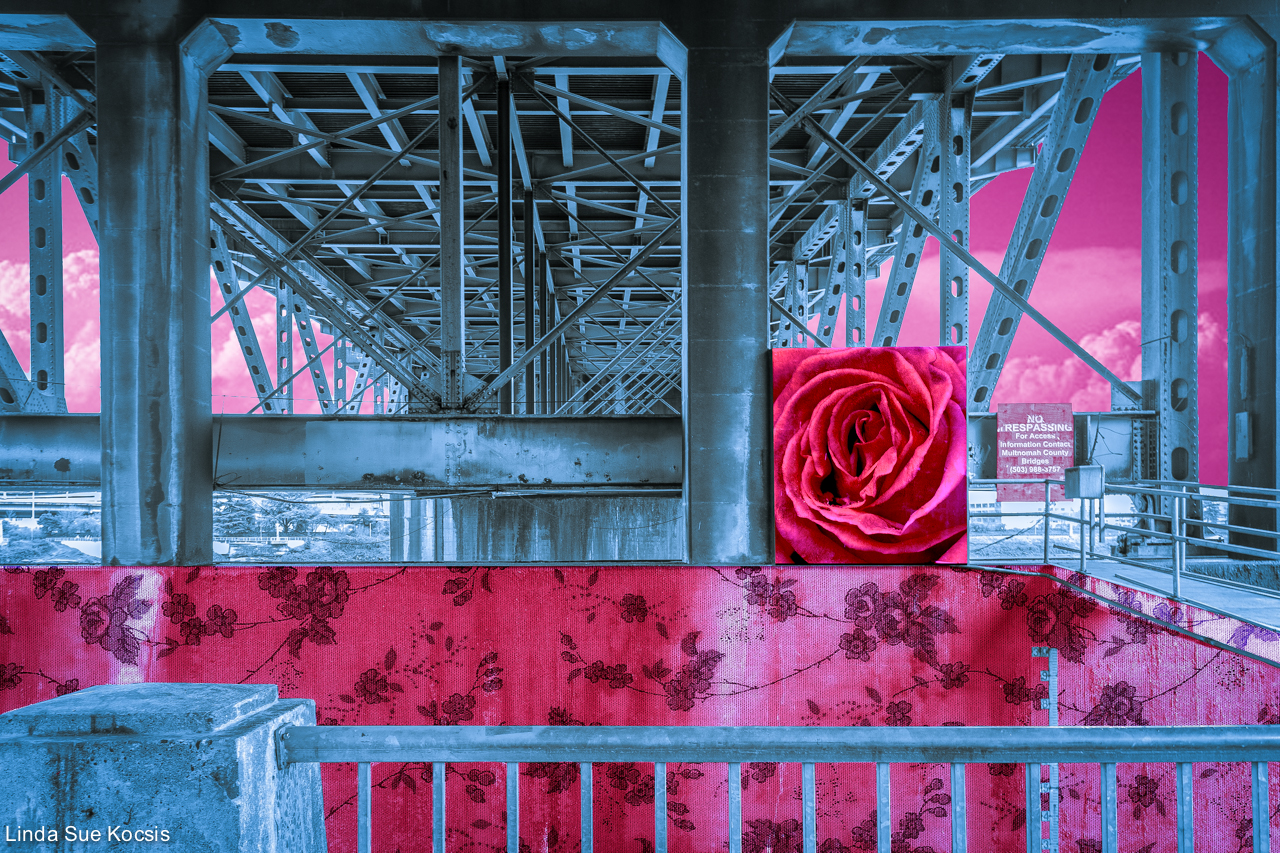 Portland, Oregon Bridge Series 4: Morrison Bridge in the City of Roses